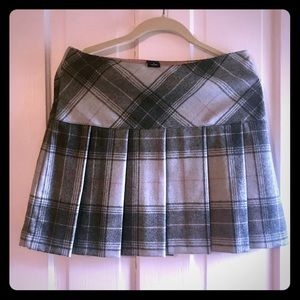 Gap Plaid Mini Skirt